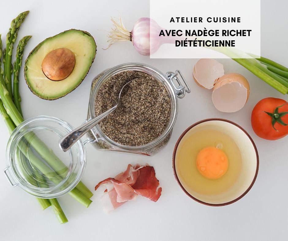 atelier diététique 26 mars avec diététicienne