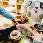 Atelier 4 mains parent enfants 3 ans