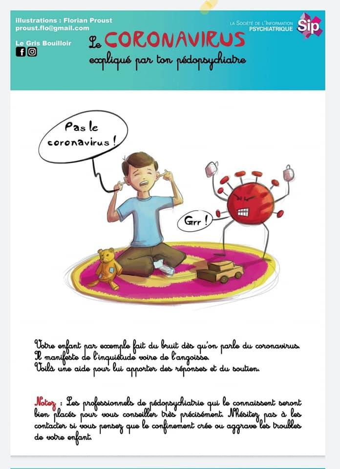 Une bande-dessinée pour aborder le coronavirus