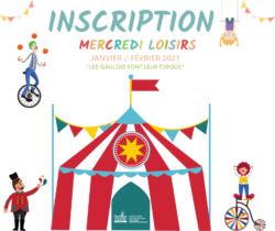 mercredis loisirs janvier février 2021 cirque