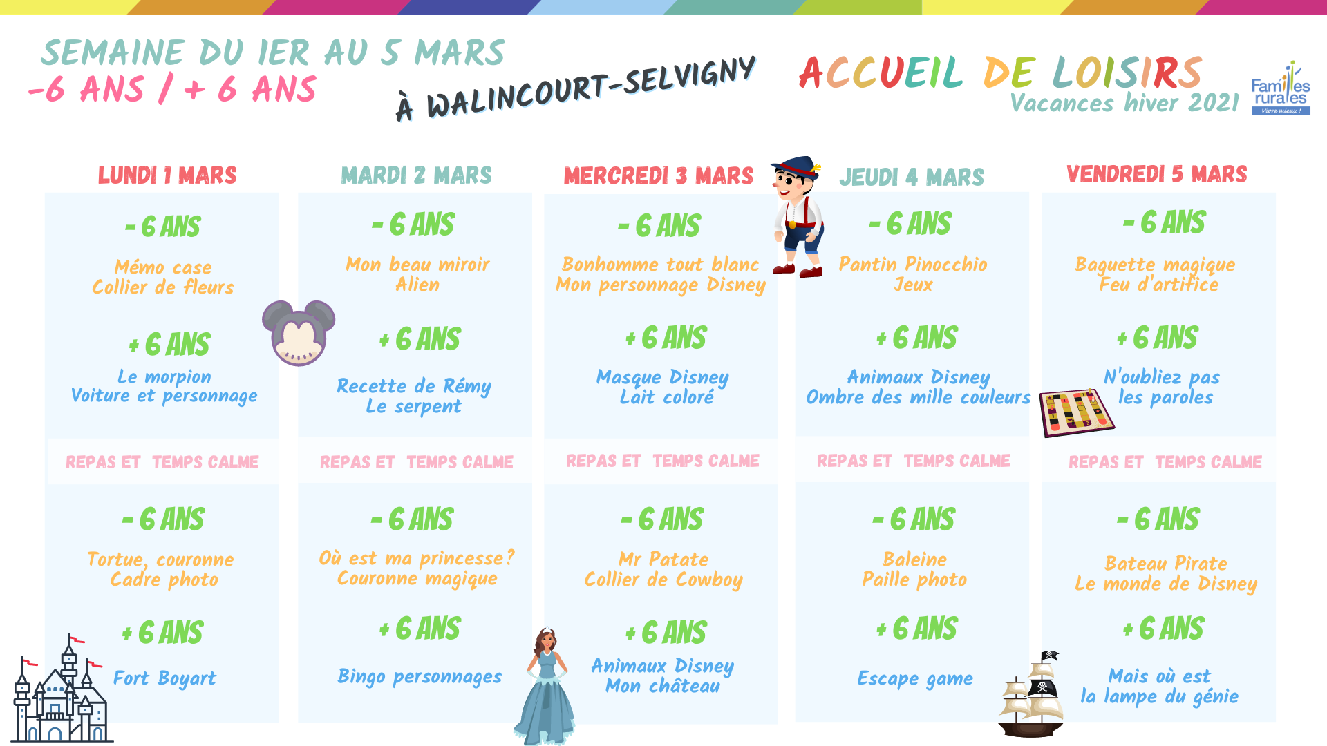 accueils loisirs plannings hiver